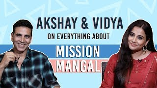 MISSION MANGAL | Akshay Kumar and Vidya Balan's EXCLUSIVE interview