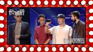 He's able to steal our judges' wallets on stage | Auditions 4 | Spain's Got Talent 2018
