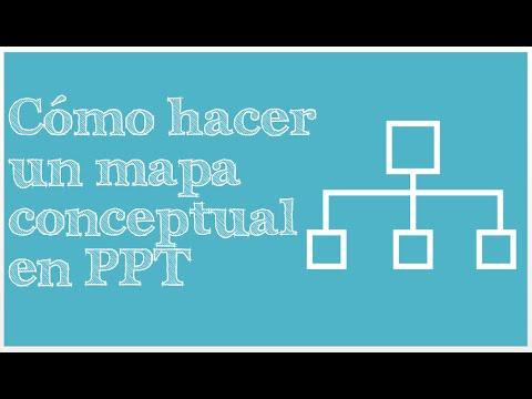 C mo hacer un mapa conceptual en powerpoint tutorial for Como crear un plano