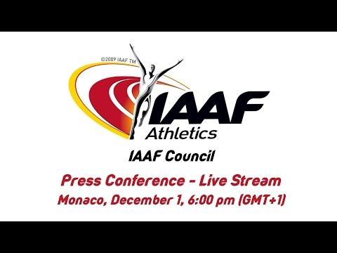 IAAF Council Press Conference - Live Stream