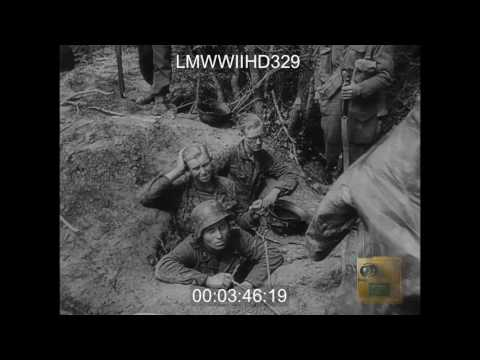 BRITISH POUND CAEN SECTOR PART 1, BRITISH ARTILLERY POUNDS GERMAN POSITIONS IN NORTHER - LMWWIIHD329