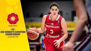 Czech Republic v Latvia - Full Game - FIBA U20 Women's European Championship 2019