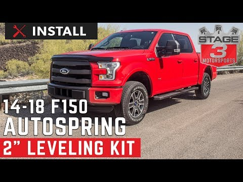 2014-2018 F-150 Auto Spring 2 Inch Front Leveling Kit Install