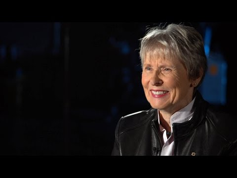 Hey, check it out. Dr. Roberta Bondar's on the CBC!