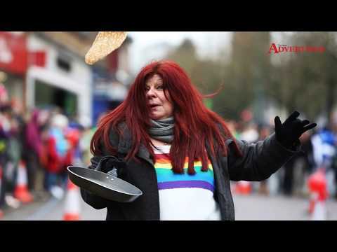St Albans pancake day races 2018