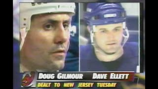 Molson Leaf Hockey on Global - Doug Gilmour Trade - Feb 26th, 1997