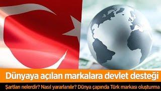Gambar cover Dünya Çapında Türk Markaları İçin Devlet Desteği: Turquality