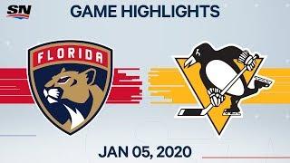 NHL Highlights   Panthers vs Penguins – Jan. 5, 2020
