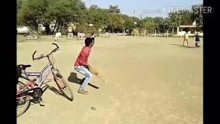 Gali cricket .....ka sixxxx......👌👌👌