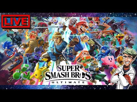 Doing 1v1 & Free For All With Chat ROOM ID: 98WBS ~ Super Smash Bros Ultimate