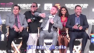 "CANELO REPLIES TO FAN WHO ASKS ""ARE YOU READY TO FIGHT GGG?"""