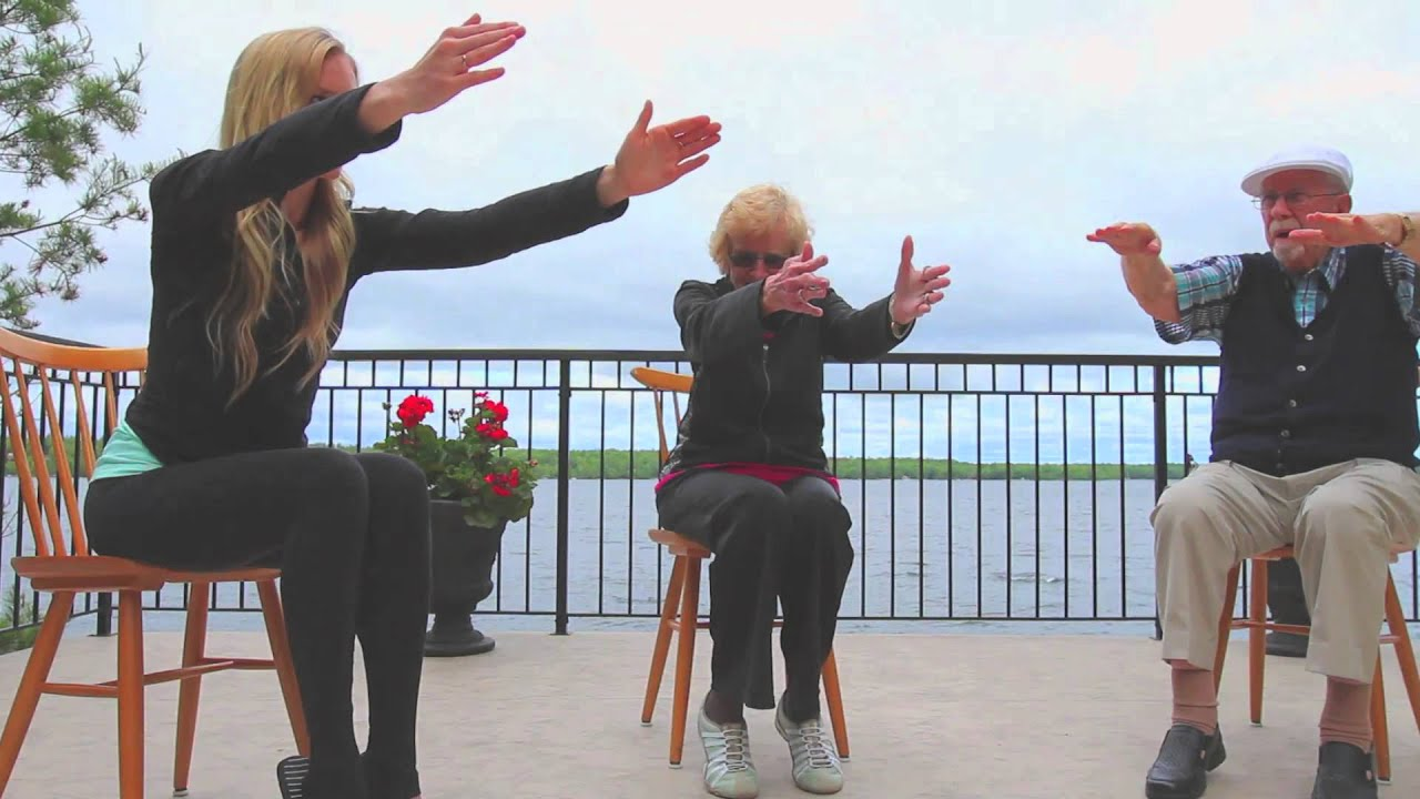 Yoga Chair Exercises For Seniors Hudson Swoop Youtube