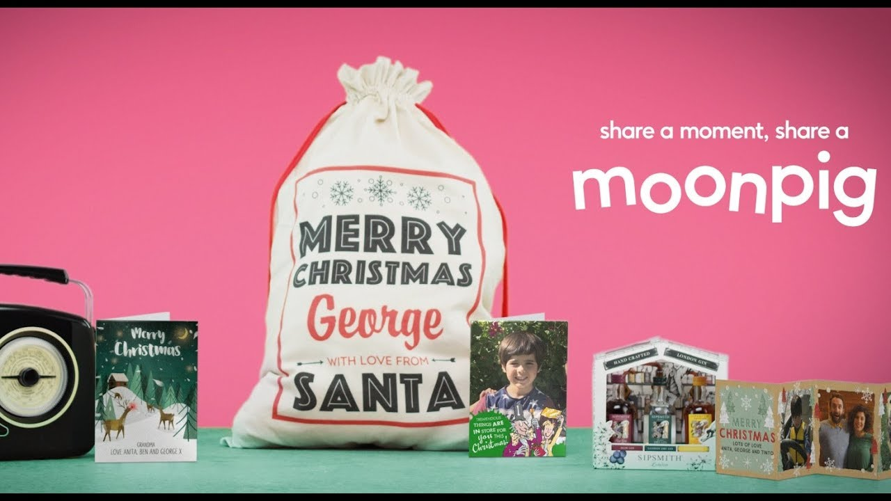 moonpig christmas cards