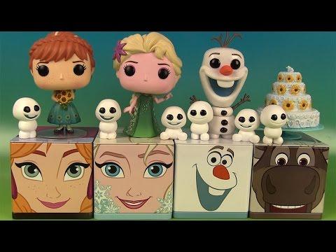 Reine des Neiges Disney Cubeez Frozen Fever Funko Pop