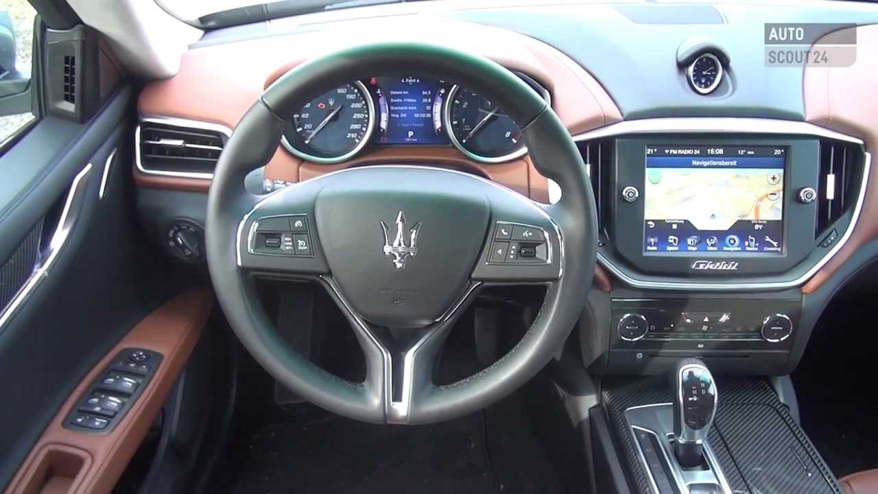 maserati ghibli 2014 autoscout24 youtube. Black Bedroom Furniture Sets. Home Design Ideas