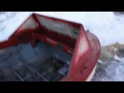как красить пульверизатором лодку