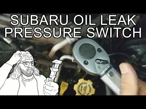 How to Fix Oil Leak By Replacing Oil Pressure Switch – Subaru Forester