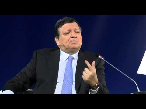 Debate with Barroso and Valcárcel - 6th Summit of Regions and Cities, Athens (Greek)