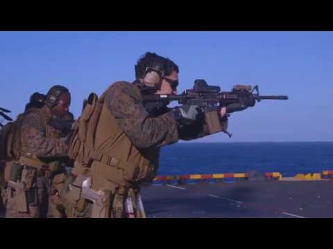 USMC FORCE RECON trigger time aboard USS IWO JIMA (LHD 7)