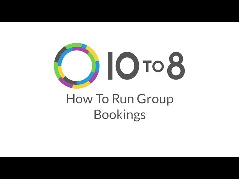How To: Run Group Bookings With 10to8 Appointment Scheduling Software