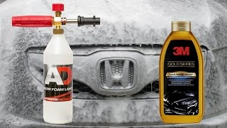 Snow Foam Lance Test : 3M Car Wash Soap Gold Series 79001