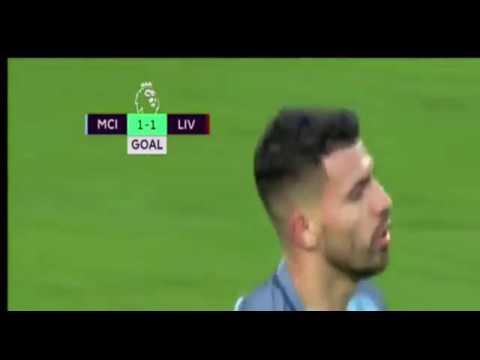 Man. City vs Liverpool 1-1 EPL 19 March 17