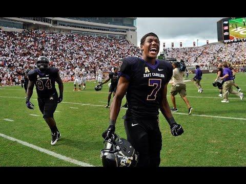 2016 American Football Highlights - East Carolina 33, NC State 30