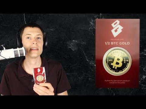 Review: Denarium 1/2 BTC Gold 2018 Coin