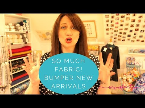 So much fabric! Bumper new arrivals!