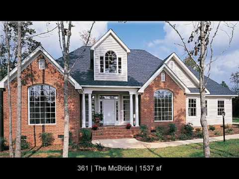 Brick house plans by don gardner architects youtube for Brick home plans
