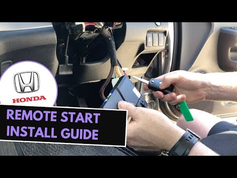 How To Install Remote Start Honda Factory Key in 10 Mins