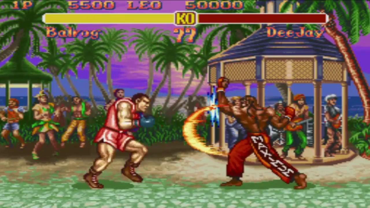 Super Street Fighter II - Balrog Vs Dee Jay - YouTube