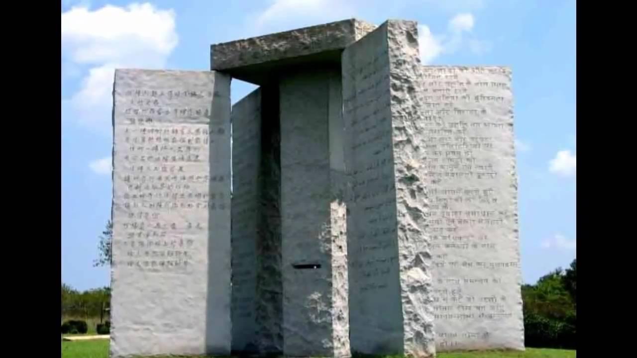 Georgia Guidestones Inschrift