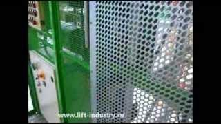 видео Подъемник строительный мачтовый ПМГ 630