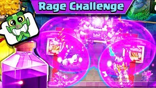 RAGE GAME MODE UPDATE GAMEPLAY - Clash Royale with Nickatnyte!