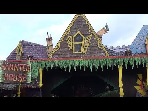 Hawnted House On-Ride POV & Off-Ride Shots @ Camden Park