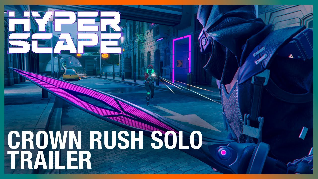 Hyper Scape: Limited-Time Game Mode | Crown Rush Solo | Ubisoft