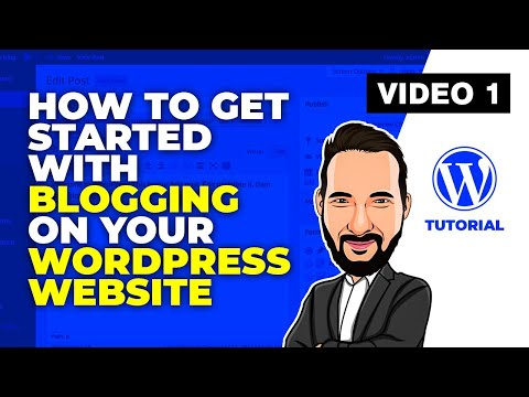 Wordpress Tutorial - How to get started with blogging on your Wordpress website thumbnail