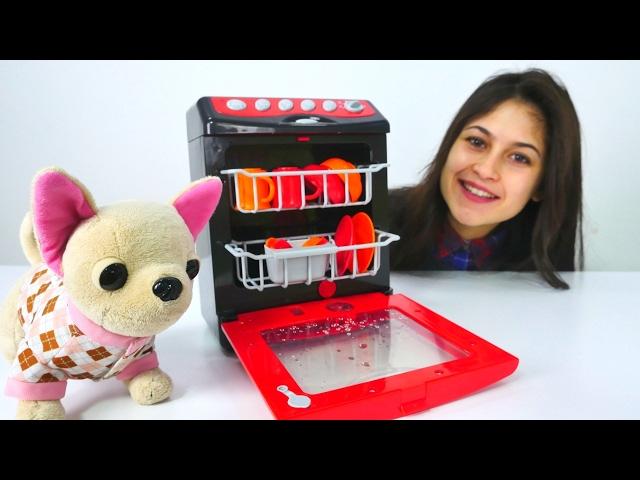 Bebek bakma oyunu👶Ayşe ve Loli bulaşık makinesi satın alıyorlar🍽️🥄#kızoyunları