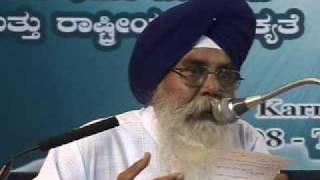 (2/2) Ahmadiyya: Guru Harjinder Singh Bhatia (Sikh) at Inter-Religious Peace Conference 2008