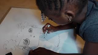 Amelia Display Her Art Skills screenshot 3