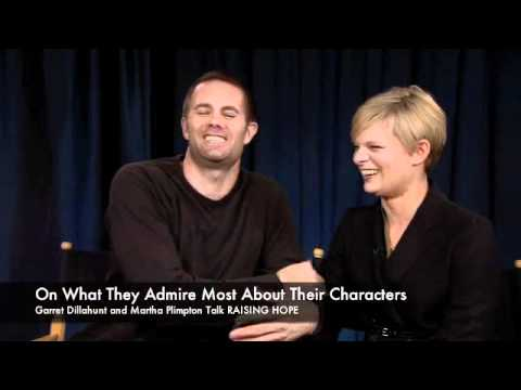 Garret Dillahunt and Martha Plimpton Talk RAISING HOPE