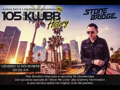 StoneBridge Interview & Mix with Radio 105 In Da Klubb, Italy November 14, 2014