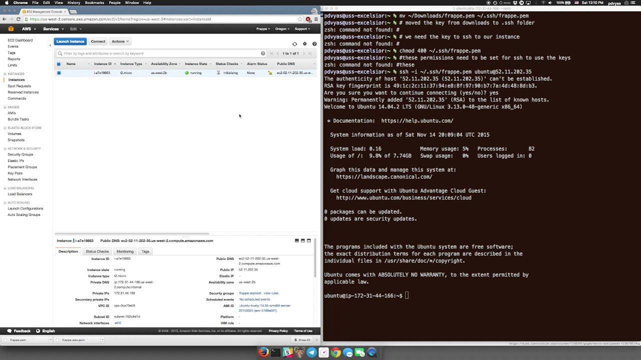 ERPNext Installation on AWS