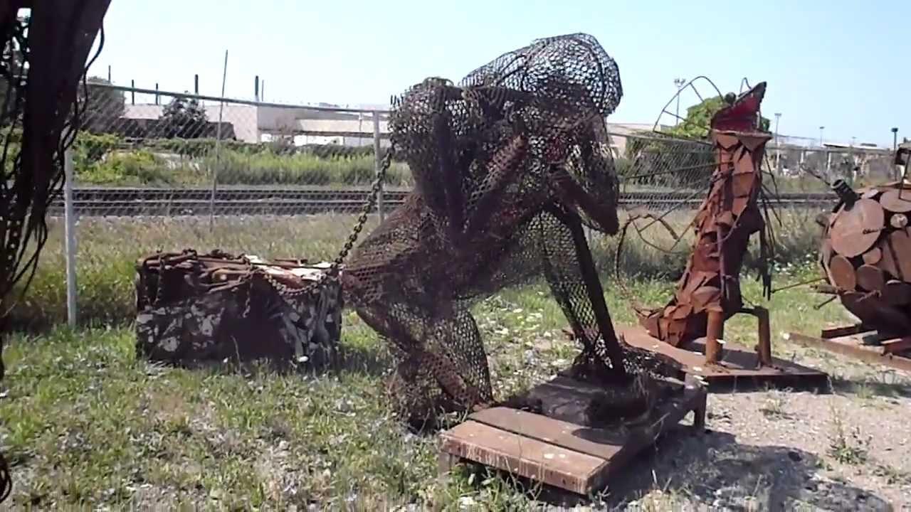 Honda London Ontario >> Even More Junkyard Art from London Ontario - YouTube