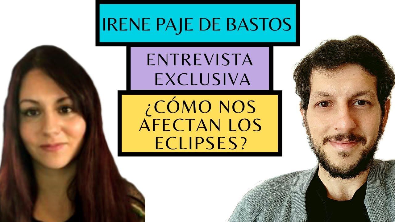 ¿Cómo nos afectan los eclipses?, con Irene Paje de Bastos