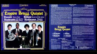 Empire Brass Quintet: 9. Paul Hindemith- Acht Stucke Op. 44, No. 3- VII Massig Schnell