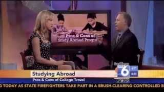 cw6 news pros cons of study abroad programs