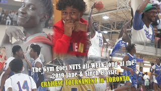 The gym goes nuts all week long at the 2019 Jane & Finch Classic - CRAZIEST TOURNAMENT in TORONTO! Video