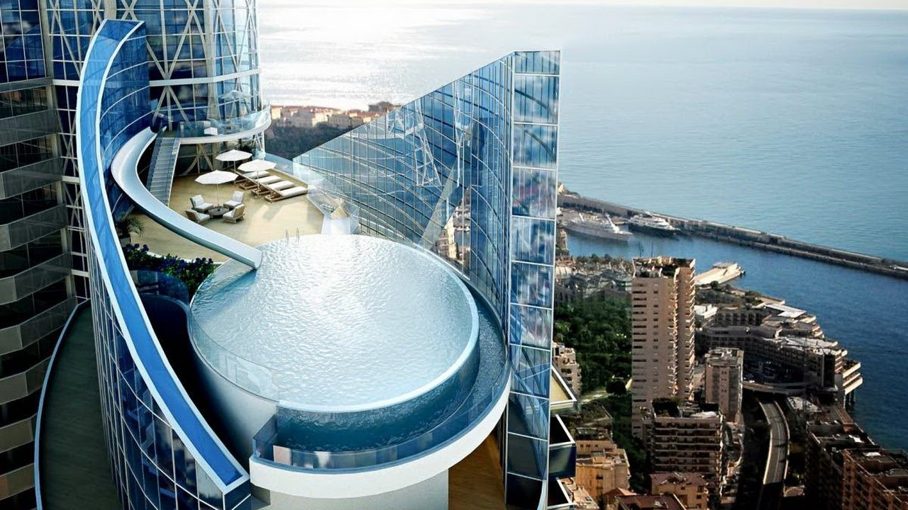 Sky Penthouse Penthouse at the Odeon Tower in Monaco